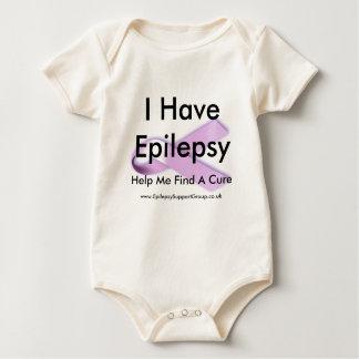 Body Para Bebê Eu mando a epilepsia ajudar-me a encontrar uma