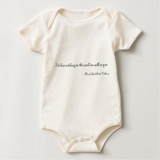 Body Para Bebê Eu não amo nada no mundo tão bem como você