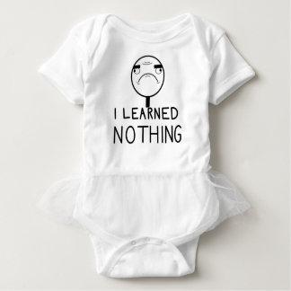 Body Para Bebê Eu não aprendi nada