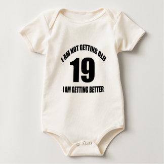 Body Para Bebê Eu não estou obtendo 19 que velhos eu estou