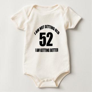 Body Para Bebê Eu não estou obtendo 52 que velhos eu estou