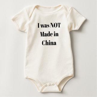 Body Para Bebê Eu não fui feito em China