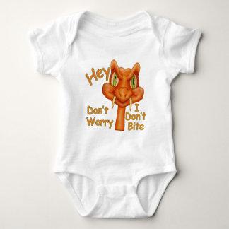 Body Para Bebê Eu não mordo