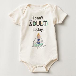 Body Para Bebê Eu não posso adulto hoje