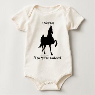 Body Para Bebê Eu não posso esperar para montar meu primeiro