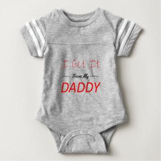 Body Para Bebê Eu obtenho-o