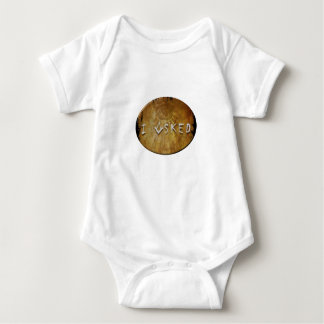 Body Para Bebê Eu perguntei a pedreiro livre