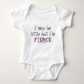 Body Para Bebê Eu posso ser pouco mas eu sou, FEROZ