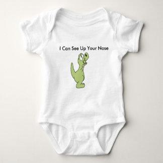 Body Para Bebê Eu posso ver acima de seu nariz