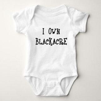 Body Para Bebê Eu possuo Blackacre
