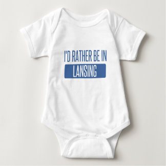 Body Para Bebê Eu preferencialmente estaria em Lansing