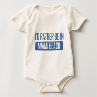 Body Para Bebê Eu preferencialmente estaria em Miami Beach