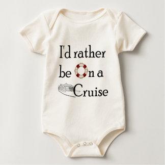 Body Para Bebê Eu preferencialmente estaria em um cruzeiro
