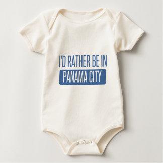 Body Para Bebê Eu preferencialmente estaria na Cidade do Panamá