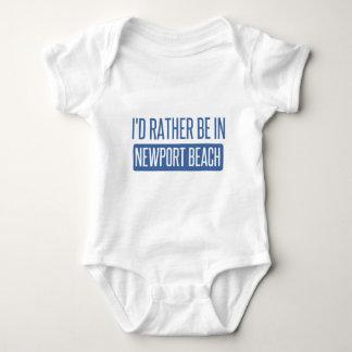 Body Para Bebê Eu preferencialmente estaria na praia de Newport