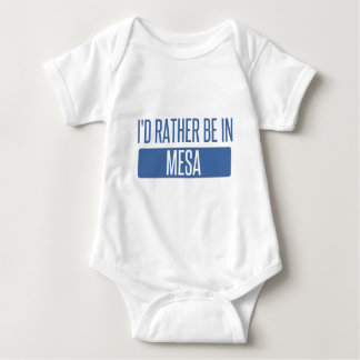 Body Para Bebê Eu preferencialmente estaria no Mesa