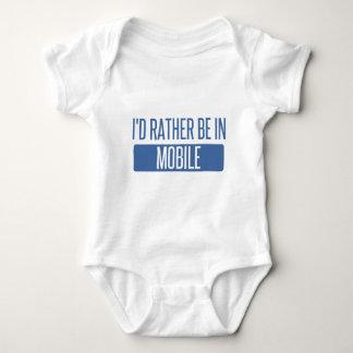 Body Para Bebê Eu preferencialmente estaria no móbil