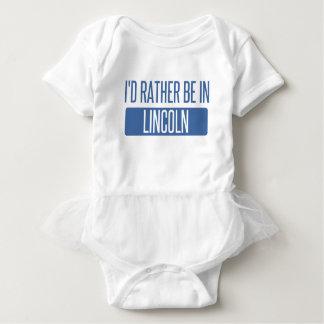 Body Para Bebê Eu preferencialmente estaria no NE de Lincoln