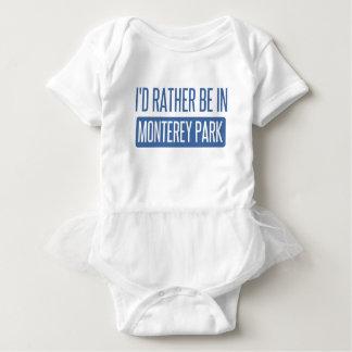 Body Para Bebê Eu preferencialmente estaria no parque de Monterey