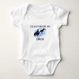 Body Para Bebê Eu preferencialmente seria uma orca