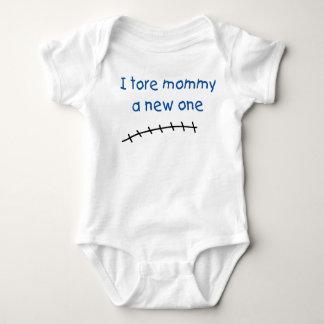 Body Para Bebê Eu rasguei mamães um novo