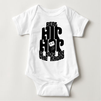 Body Para Bebê Eu recordo o Tshirt real novo do hip-hop