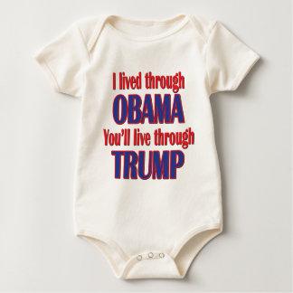 Body Para Bebê Eu sobrevivi a Obama