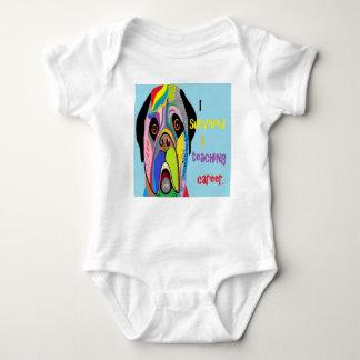 Body Para Bebê Eu sobrevivi a uma carreira de ensino