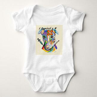 Body Para Bebê Eu sobrevivi a uma carreira dos cuidados