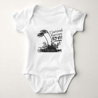 Body Para Bebê Eu sobrevivi ao furacão Irma