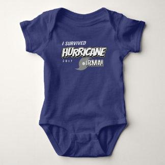 Body Para Bebê Eu sobrevivi ao t-shirt da criança de Irma do
