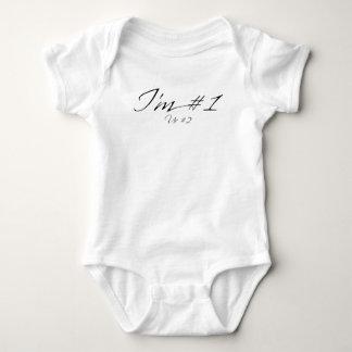 Body Para Bebê Eu sou #1 (Ur #2)