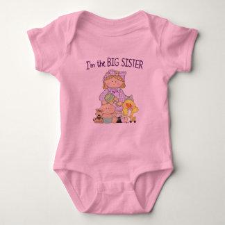 Body Para Bebê Eu sou a irmã mais velha