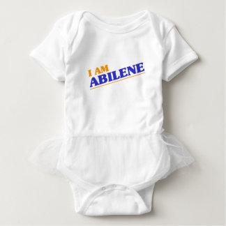 Body Para Bebê Eu sou Abilene