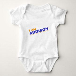 Body Para Bebê Eu sou Addison