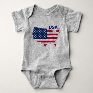 Body Para Bebê Eu sou bebê americano