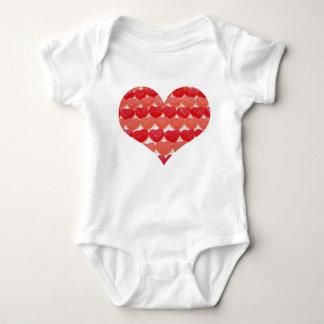 Body Para Bebê Eu sou corações pequenos de uns doces do Sweety