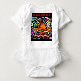 Body Para Bebê Eu SOU FEITO EM MÉXICO