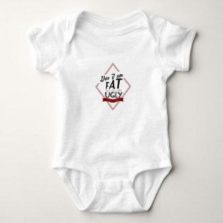 Body Para Bebê Eu sou gordo você sou feio