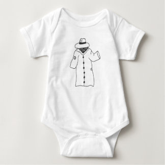 Body Para Bebê Eu sou humano-- Realmente!