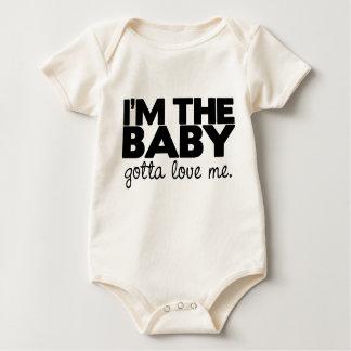 Body Para Bebê Eu sou o bebê, conseguido amar-me