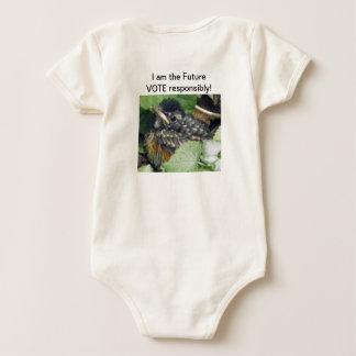 Body Para Bebê Eu sou o futuro!