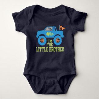 Body Para Bebê Eu sou o monster truck do irmão mais novo