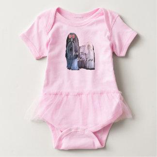 Body Para Bebê Eu sou o Shih Tzu - tutu infantil