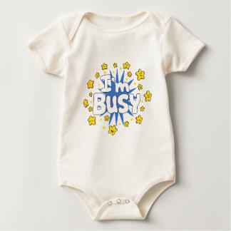 Body Para Bebê Eu sou ocupado