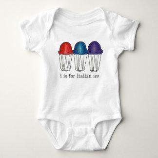 Body Para Bebê Eu sou para gelo italiano a comida barbeada do