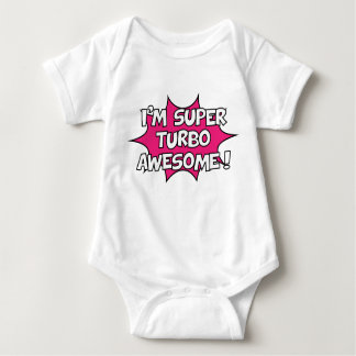 Body Para Bebê Eu sou turbo super impressionante!