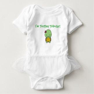Body Para Bebê Eu sou TURTLEY tubular!