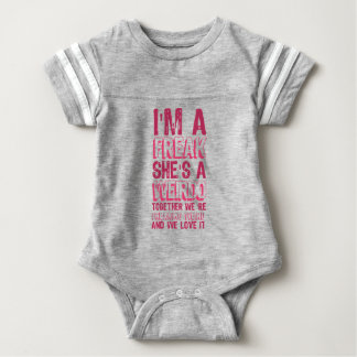 Body Para Bebê eu sou um ANORMAL que é um ESQUISITO.