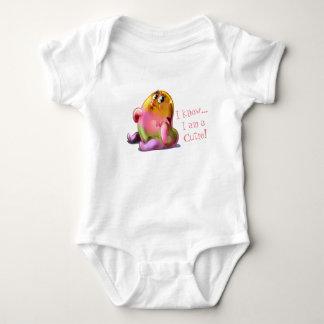 Body Para Bebê Eu sou um cutie